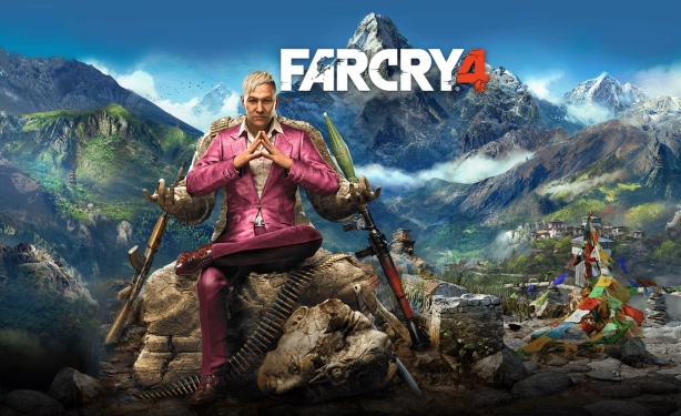 Far Cry 4 Villain Revealed Troy Baker Will Voice Pagan Min Cake