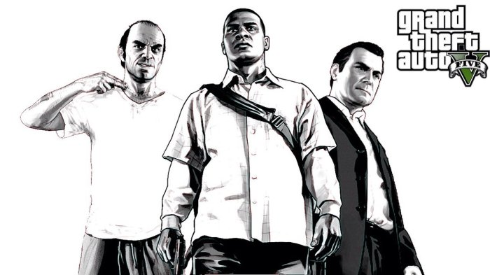 my_gta_v_wallpaper_in_black_and_white_by_robster4567k-d79rp83