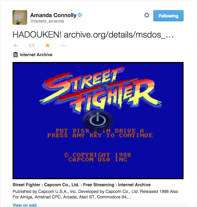 How to embed classic MS-DOS games like Street Fighter and